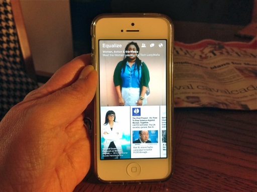 """Facebook's recently launched Paper app has some stories on diversity under its """"Equalize"""" heading, but very few on Native Americans."""