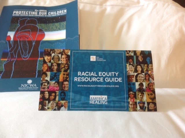 The W.K. Kellogg Foundation announced the launch of the Racial Equity Resource Guide at the 32nd annual conference of the National Indian Child Welfare Association on Tuesday, April 15.